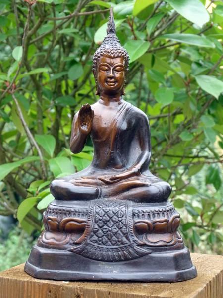 Bronzefigur Buddha