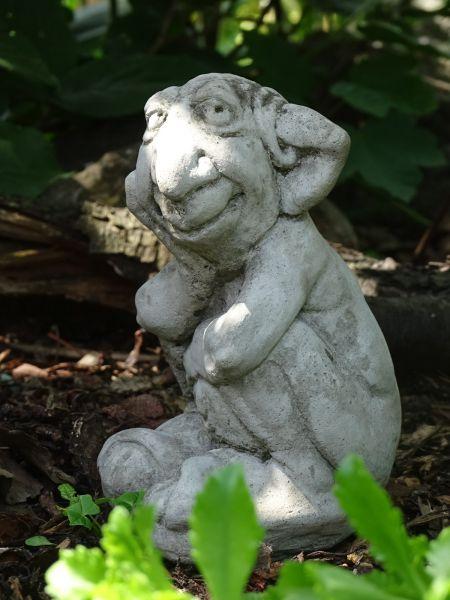 Goblin aus Steinguss - frostfest