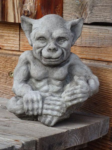 Steinfigur Goblin
