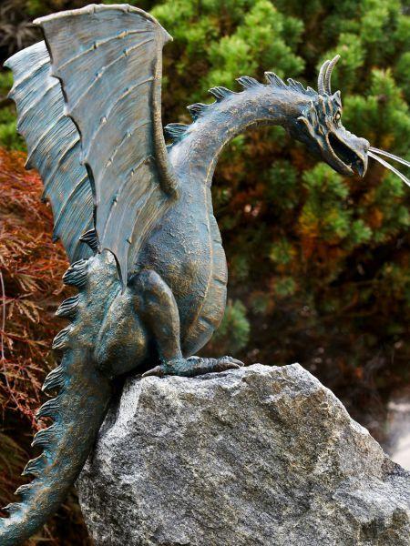 Bronzefigur Saphira - Original Rottenecker Bronze