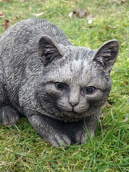 Katze Findus aus Steinguss