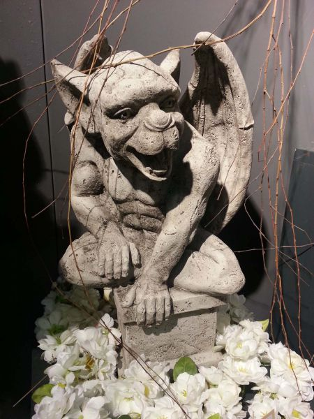 Large Gargoyle Open Mouth
