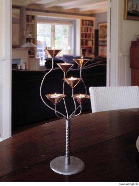 Aristo Teelicht Kerzenständer Royal