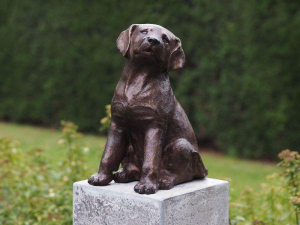 Bronzefigur Labrador