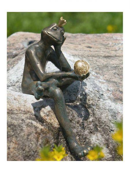 Froschkönig Borris Rottenecker Bronze