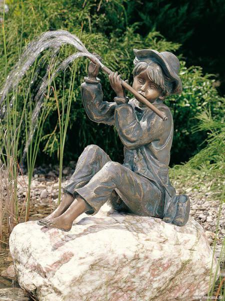 Bronzefigur Hans groß von Rottenecker Ambiente