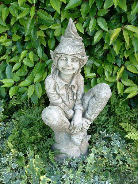 Steinfigur Elfe Susan Fiona Scott