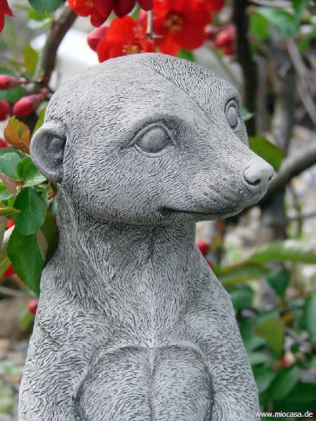 Erdmännchen HARRY - Gartendekofigur