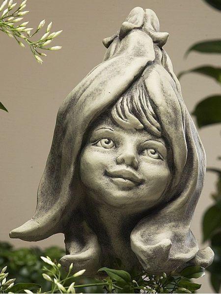 Gartenfigur Blumenkind Magnolie