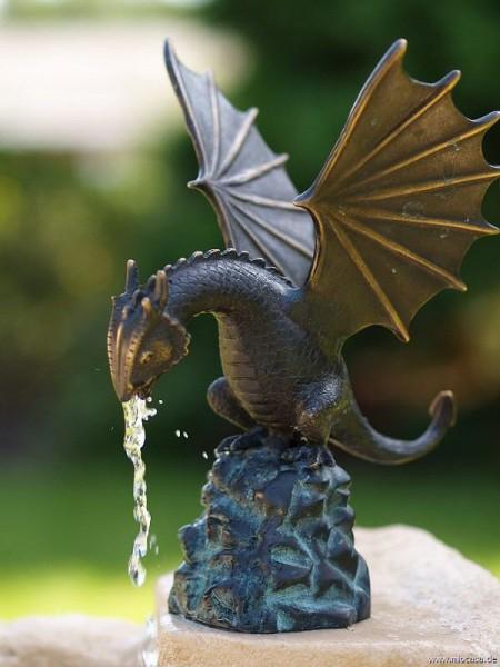Bronzefigur Drachenvogel Smaug klein