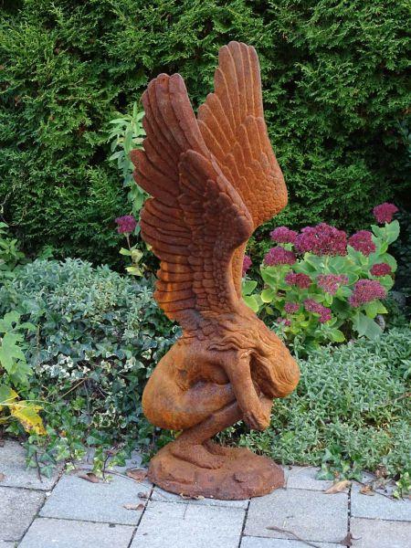 Engel aus Gusseisen