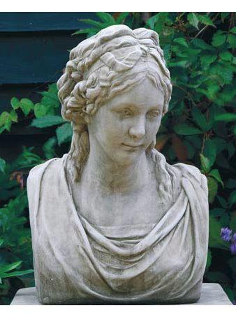Büste Friederike von Preußen aus Steinguss