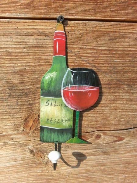 Garderobe Vino einzeln rot