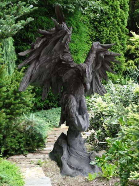 Adler - Wesen der Lüfte Steinfigur