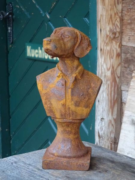 Hundebüste Eisen