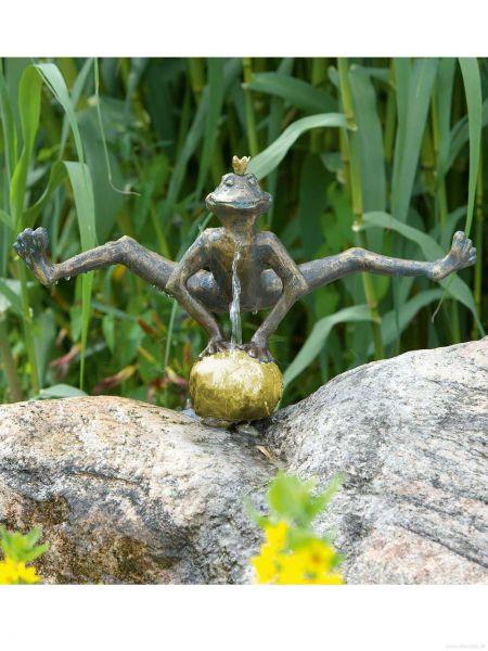 Froschkönig Dietmar Rottenecker Bronze