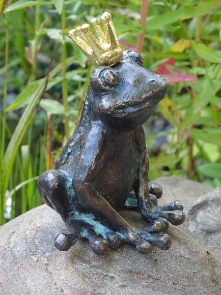 Froschkönig Rottenecker aus Bronze