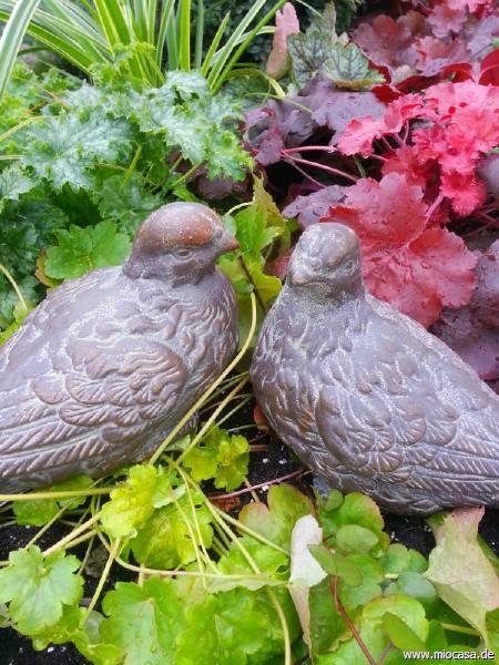 Taubenpaar aus Gusseisen