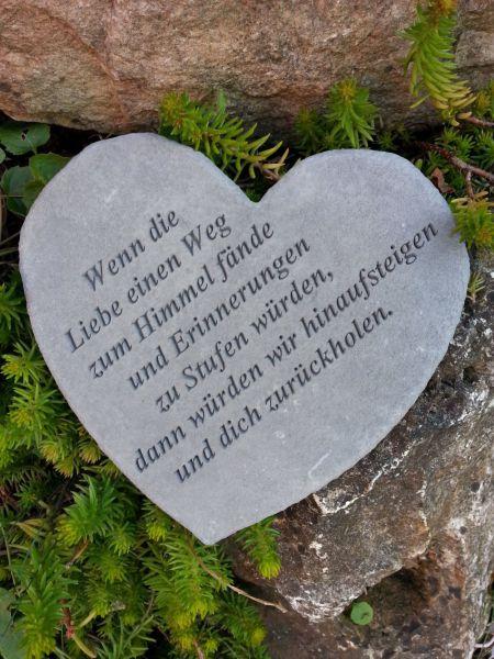 Gedenkstein Wenn die Liebe einen Weg