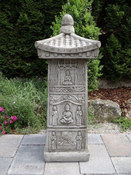 Tempelstein - Pagode aus Steinguss
