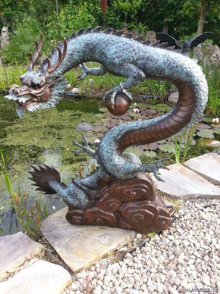 Chinesischer Drache Bronze
