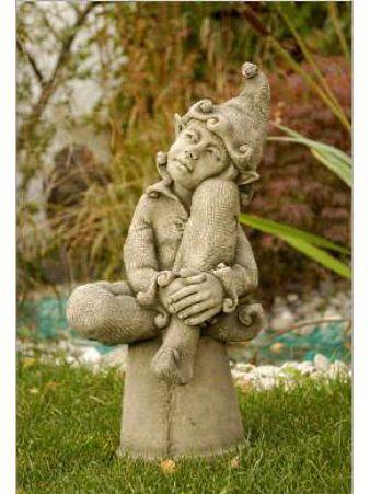 Fee jenny Fiona Scott Gartenfigur aus Steinguss