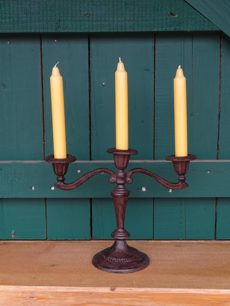 Kerzenständer oder Leuchter aus Eisen