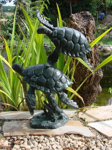 Schildkröten aus Bronze