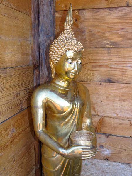 Buddha Thailand aus Bronze