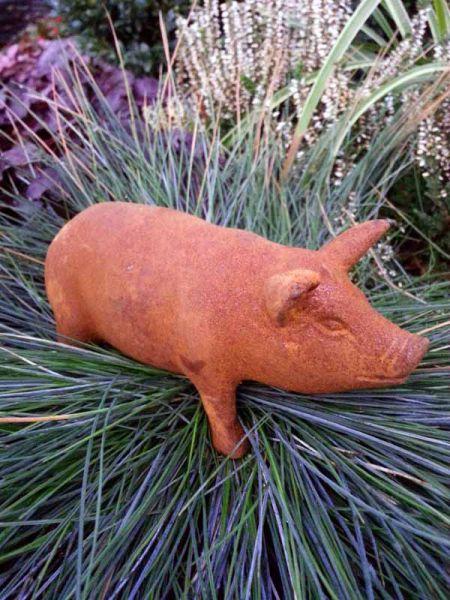 Schwein aus Gusseisen Porky