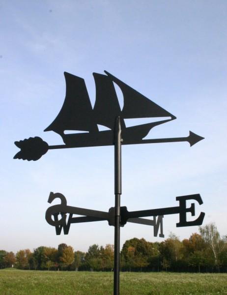 Wetterfahne Segelschiff