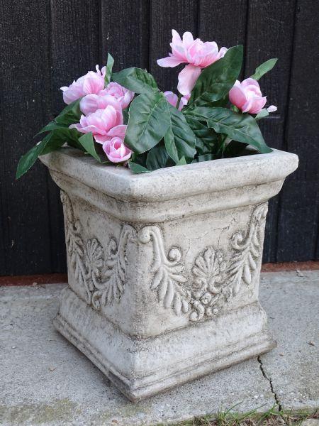Antik Pot Pflanztopf aus Steinguss