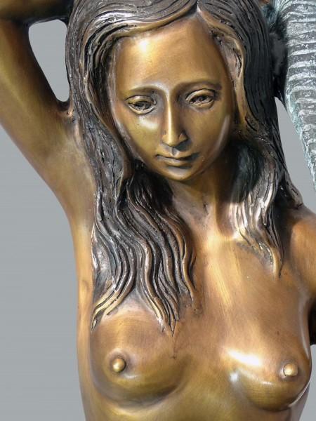 Bronzeskulptur Meerjungfrau aus Bronze