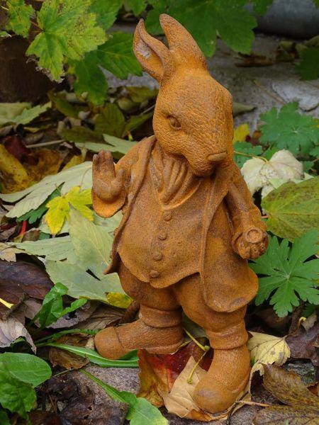 Gusseisen Figur Peter Rabbit klein