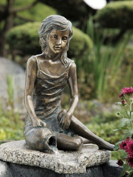Bronzefigur MALIN von Rottenecker