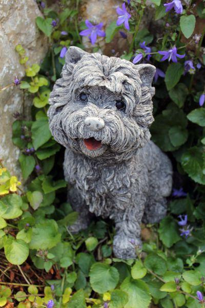 Kleiner Terrier Hundefigur