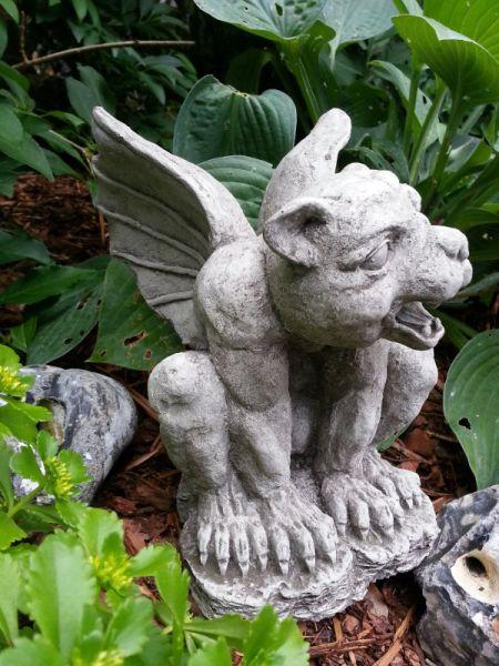 Gargoyle Open Mouth Gartenfigur