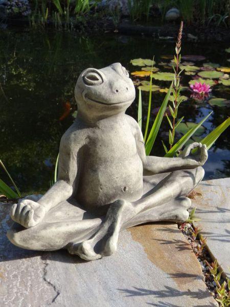 Yogafrosch von Vidroflor