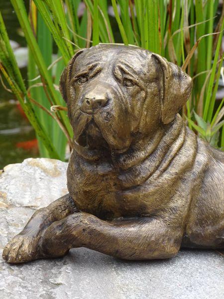 Bronzefigur Rottweiler