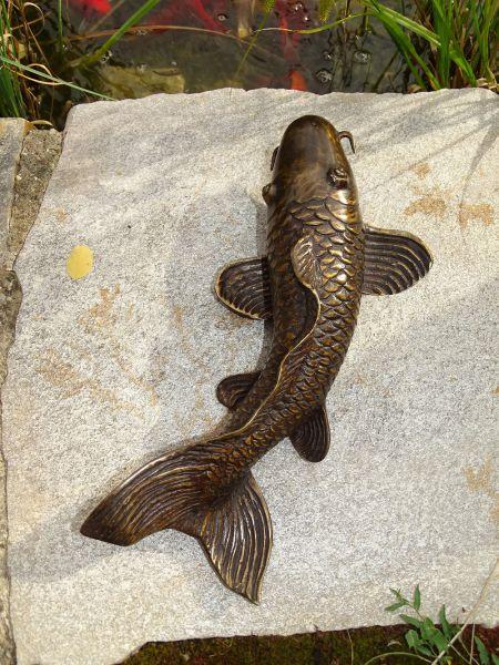 Bronzefigur KOI