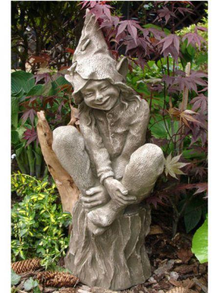 Elfe Foxglove Devonshire Steinfigur by Fiona Scott