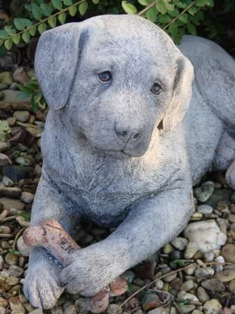 Steinfiguren hunde aus steinguss f r ihren garten for Gartenfiguren aus steinguss