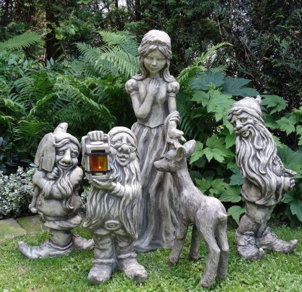 Figurengruppe Schneewittchen und die Zwerge