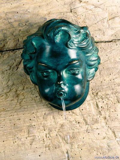 Bronze Brunnenauslauf