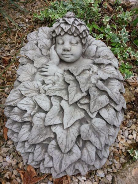 Leafling Efeu aus Steinguss
