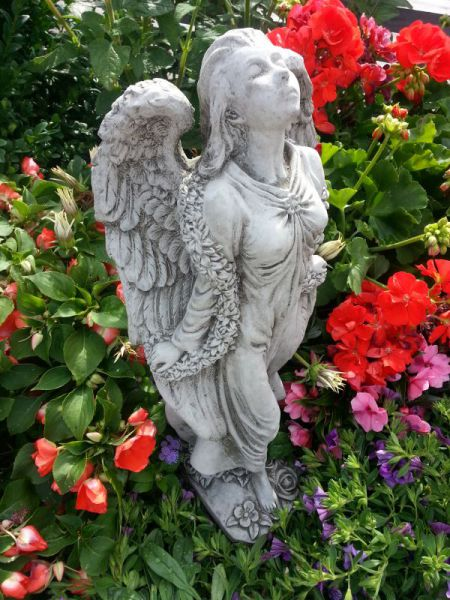 Steinfigur Engel Harmony