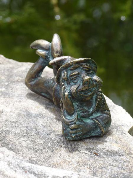 Bronzefigur Willibald von Rottenecker