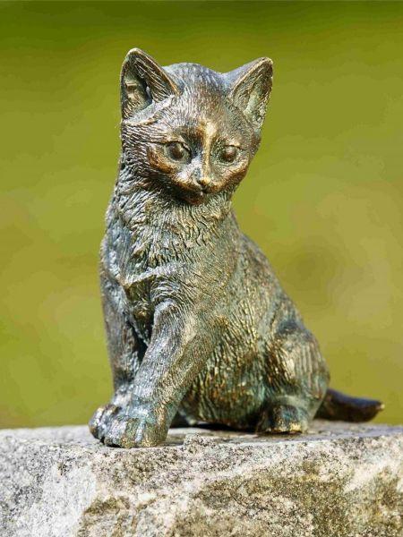 Rottenecker Katze aus Bronze