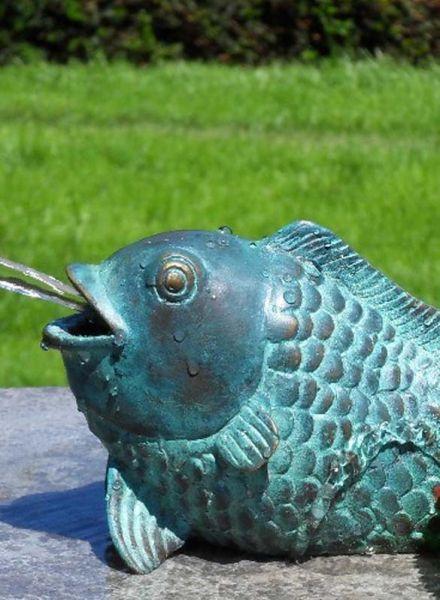 Bronzefigur Fisch