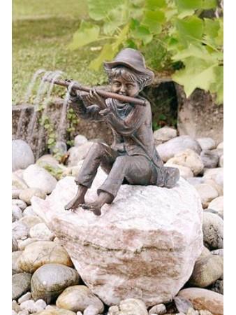 Bronzefigur Hans von Rottenecker Ambiente